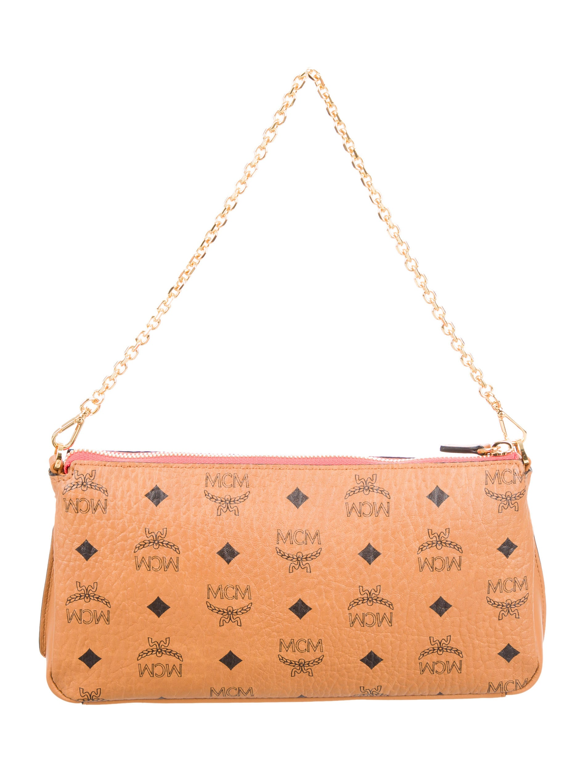MCM Millie Visetos Zip Crossbody Bag w Tags Handbags  : W30212574enlarged from www.therealreal.com size 1899 x 2505 jpeg 318kB