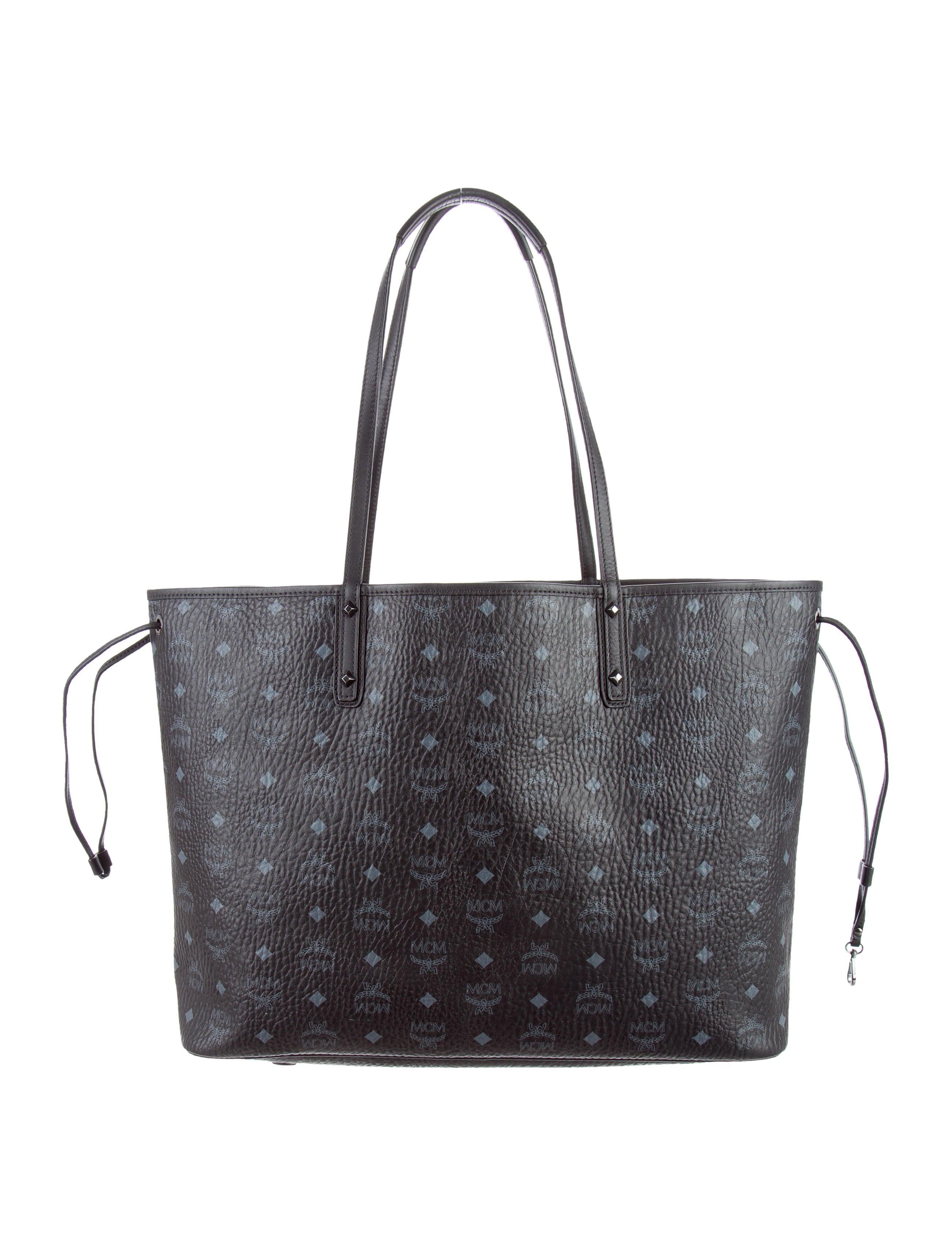 mcm large project visetos reversible shopper bag. Black Bedroom Furniture Sets. Home Design Ideas