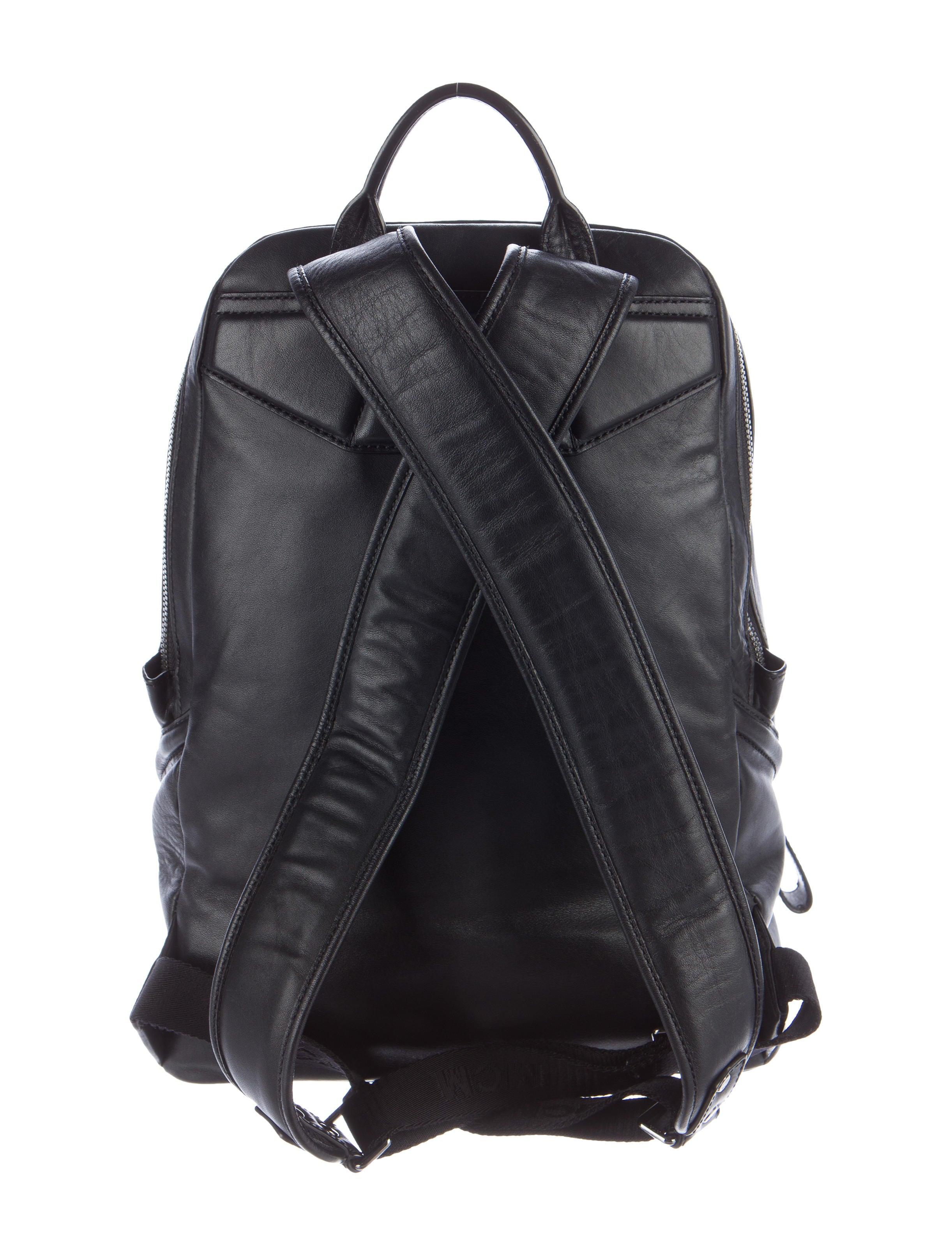 953f10408355 MCM Embossed Leather Backpack - Bags - W3021352 | The RealReal