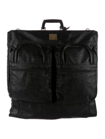 MCM Visetos Garment Bag None