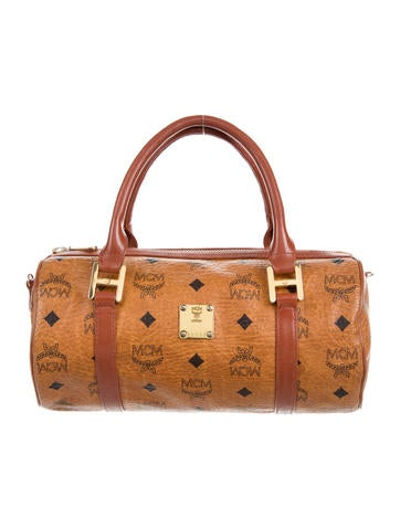 MCM Visetos Handle Bag None