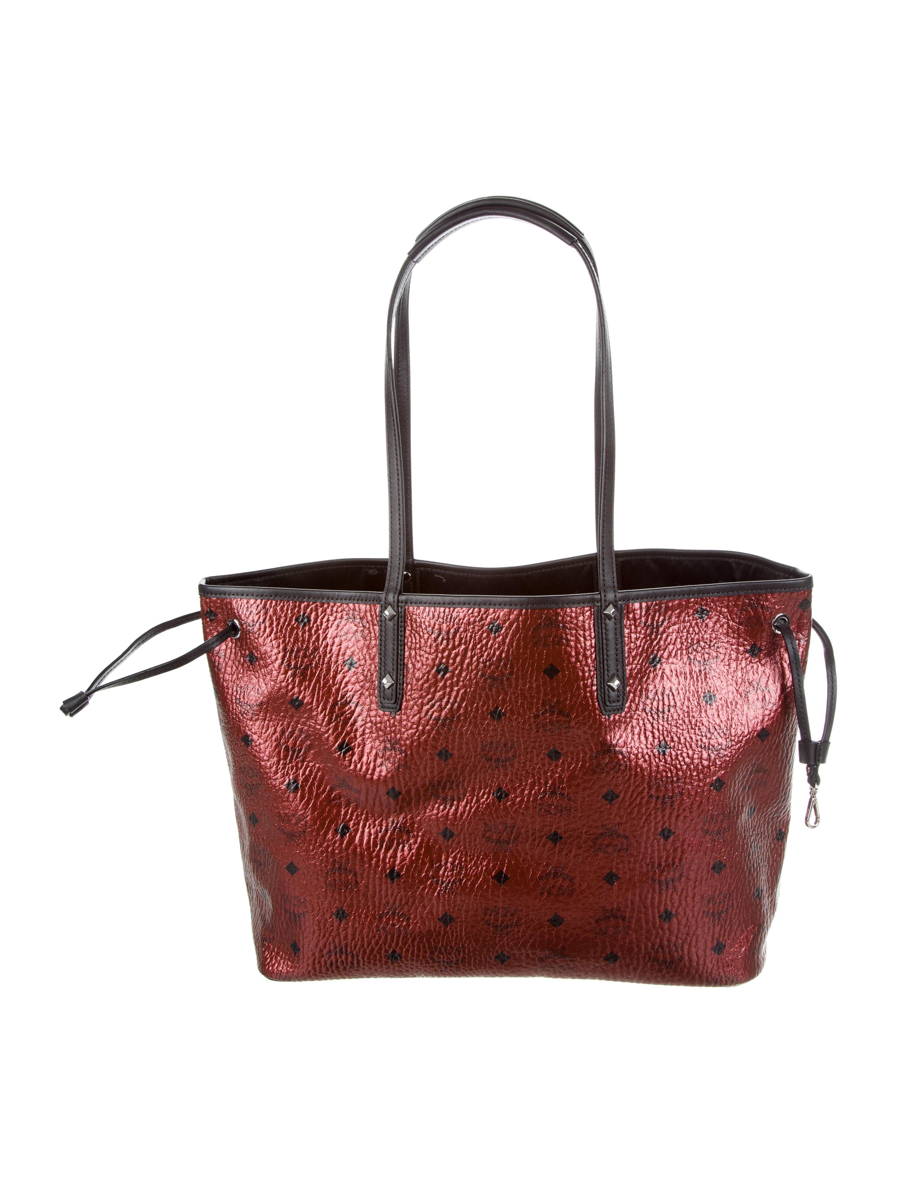 mcm medium reversible liz shopper w tags handbags. Black Bedroom Furniture Sets. Home Design Ideas