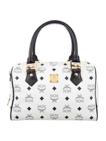 MCM Visetos Handle Bag None