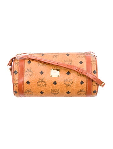 MCM Visetos Shoulder Bag None