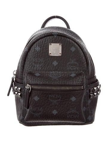 MCM Mini Visetos Backpack None