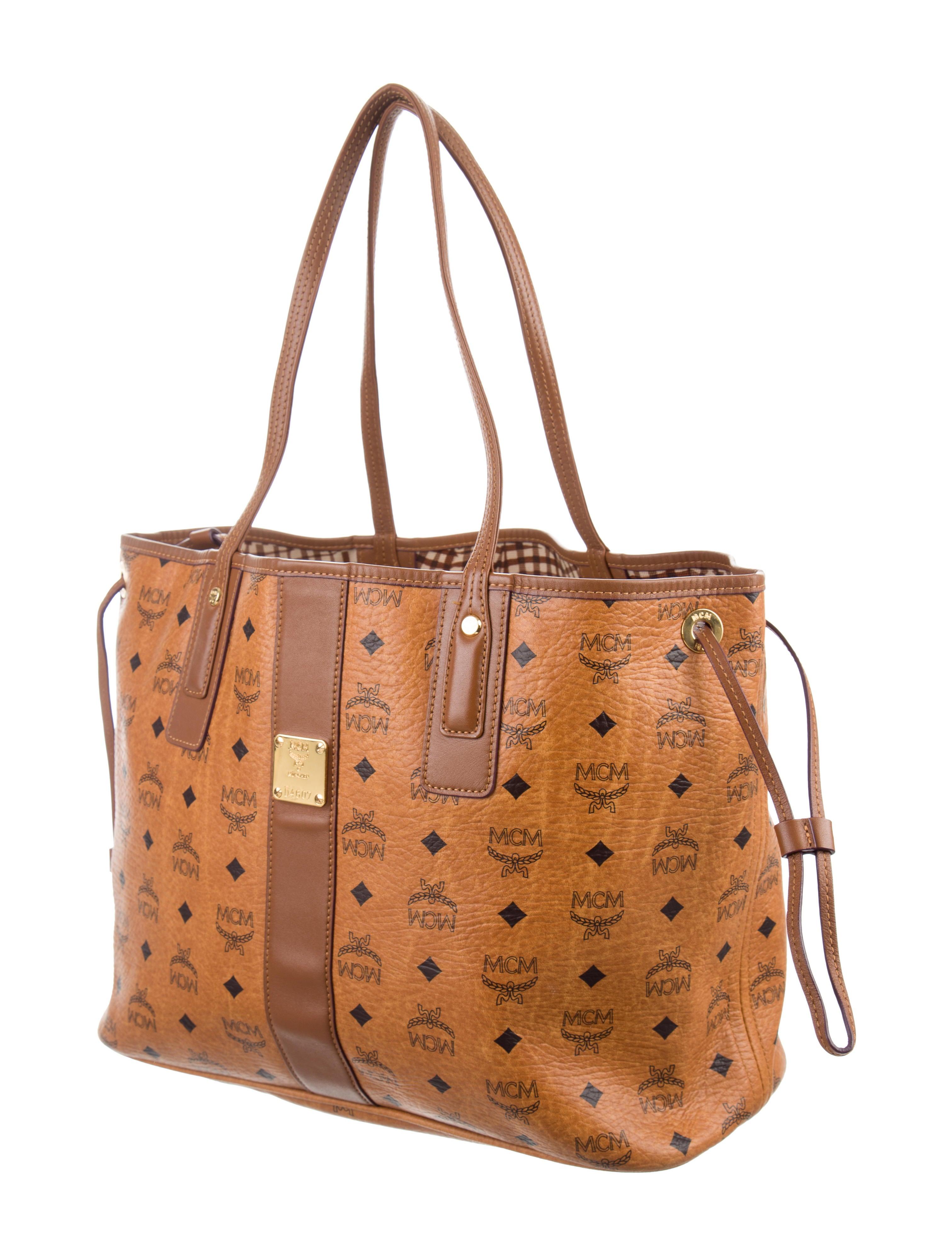 mcm medium visetos reversible liz shopper handbags. Black Bedroom Furniture Sets. Home Design Ideas