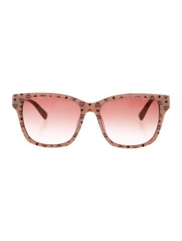 MCM Visetos Oversize Sunglasses None