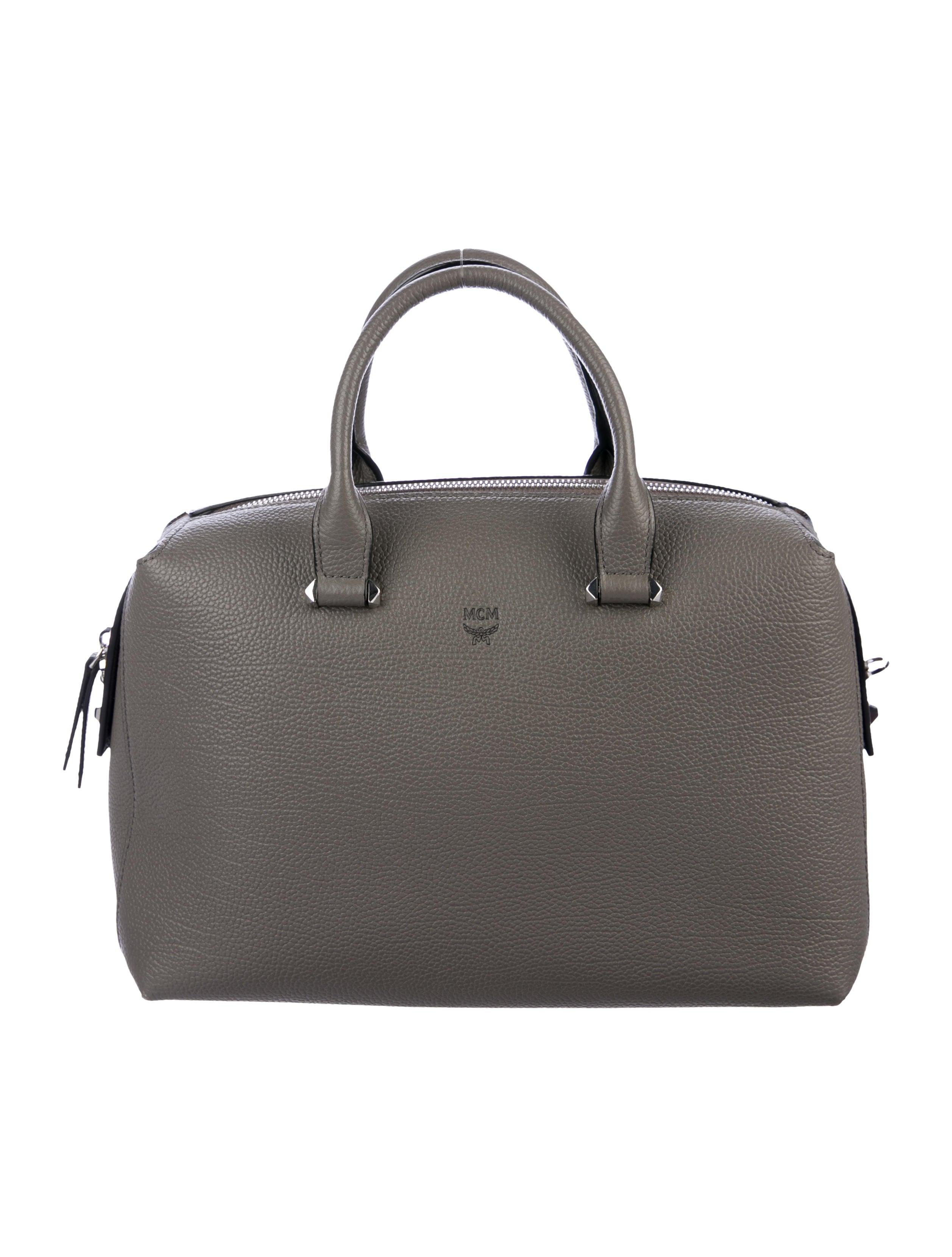 56928dd5ddc28e MCM Medium Ella Boston Bowler Bag - Handbags - W3023054