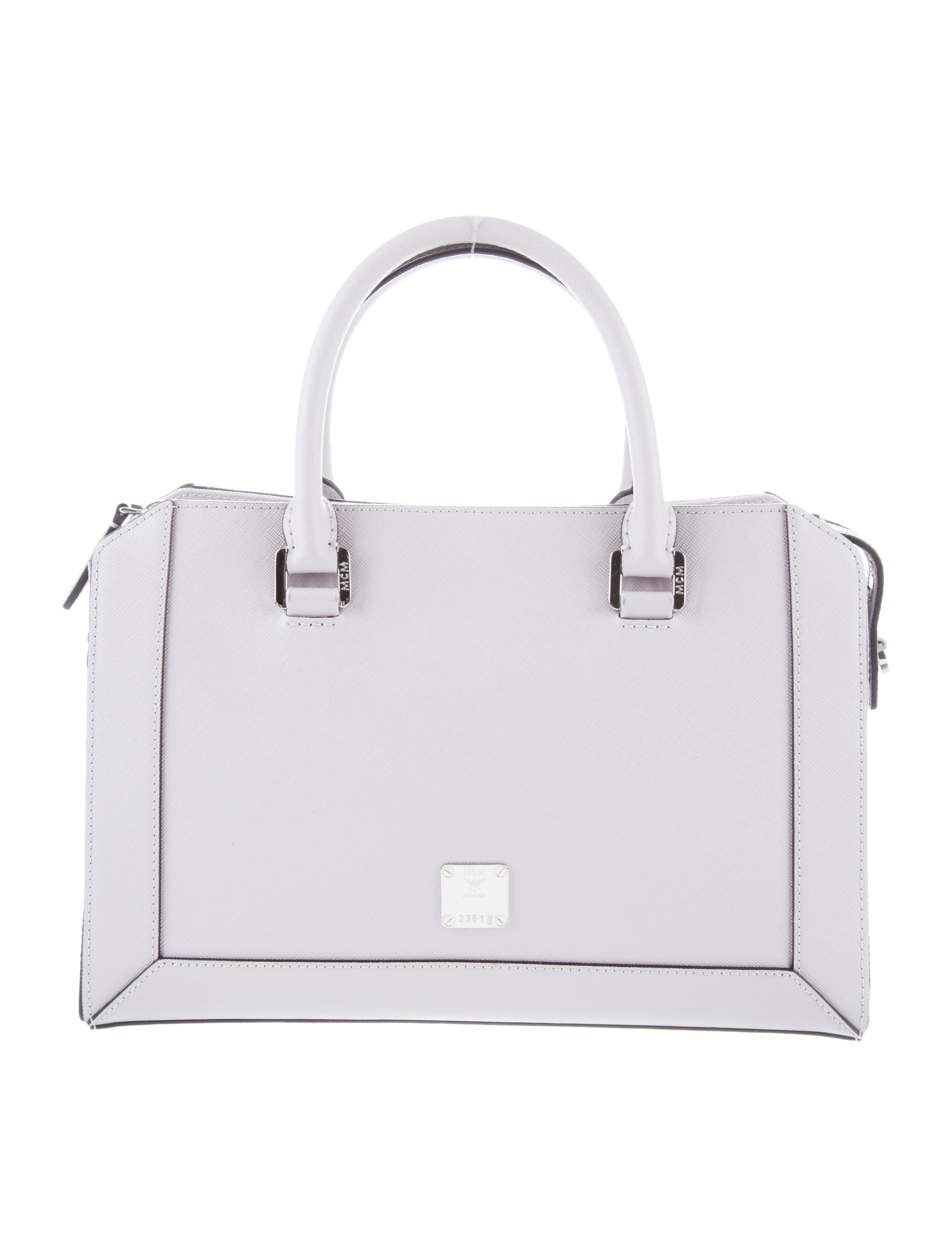 1b8bfec48e MCM Grain Leather Handbag w  Tags - Handbags - W3023587