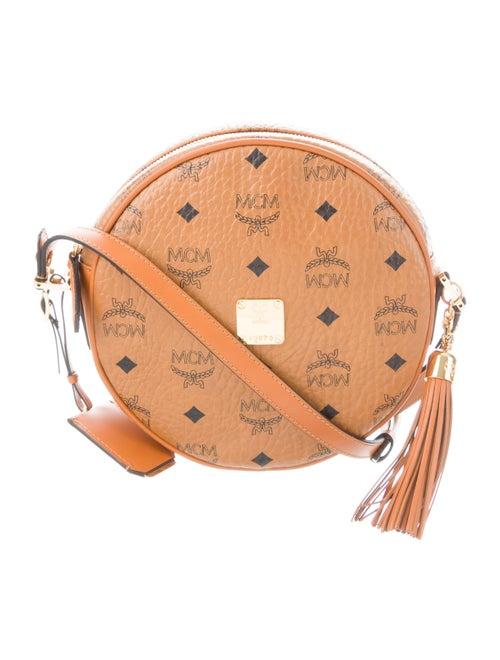 6c569723f MCM Heritage Tambourine Crossbody Bag - Handbags - W3024640 | The ...