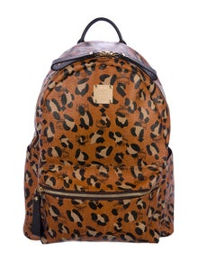 2cb59805012df2 MCM. Leopard Print Backpack