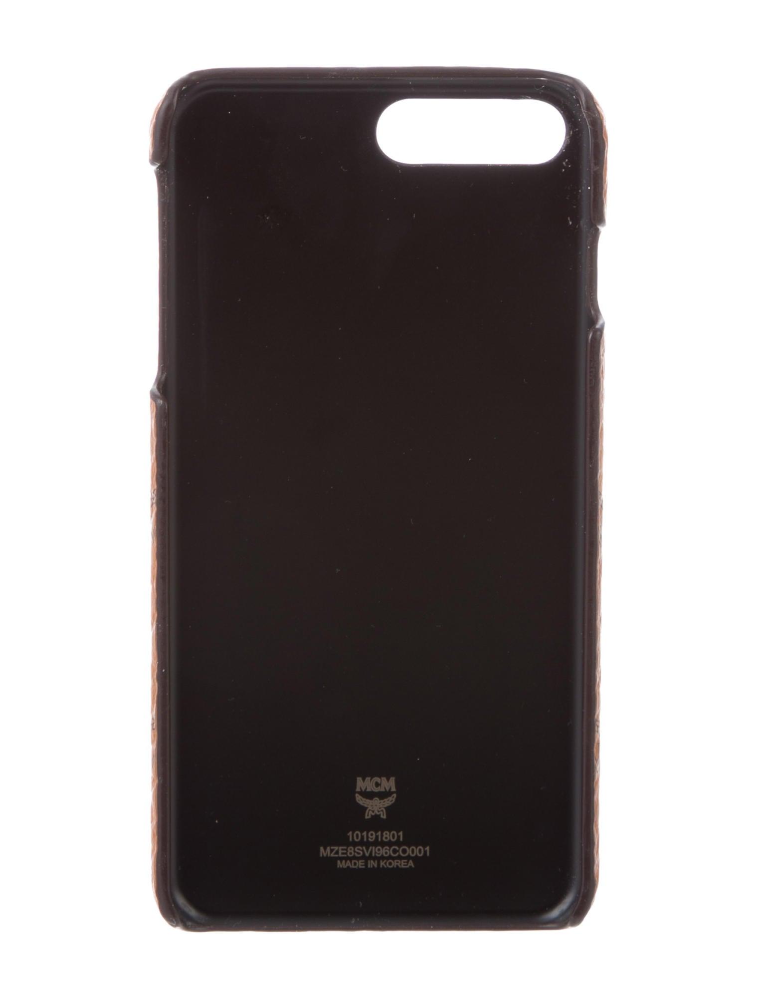 MCM Visetos iPhone 7/8 Plus Case - Accessories - W3026200 | The ...