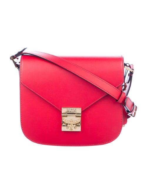 MCM Small Patricia Saddle Bag gold