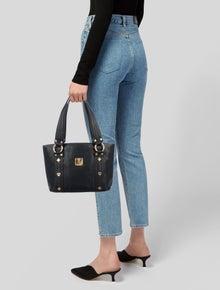 MCM Vintage Leather Shoulder Bag