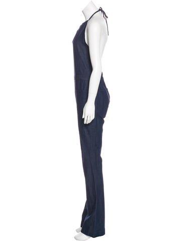 46073efeb10f 3x1 NYC Denim Halter Jumpsuit - Clothing - W31NY20239