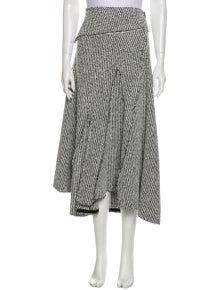 3.1 Phillip Lim Printed Midi Length Skirt