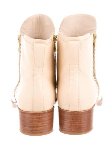 Alexa Leather Ankle Boots