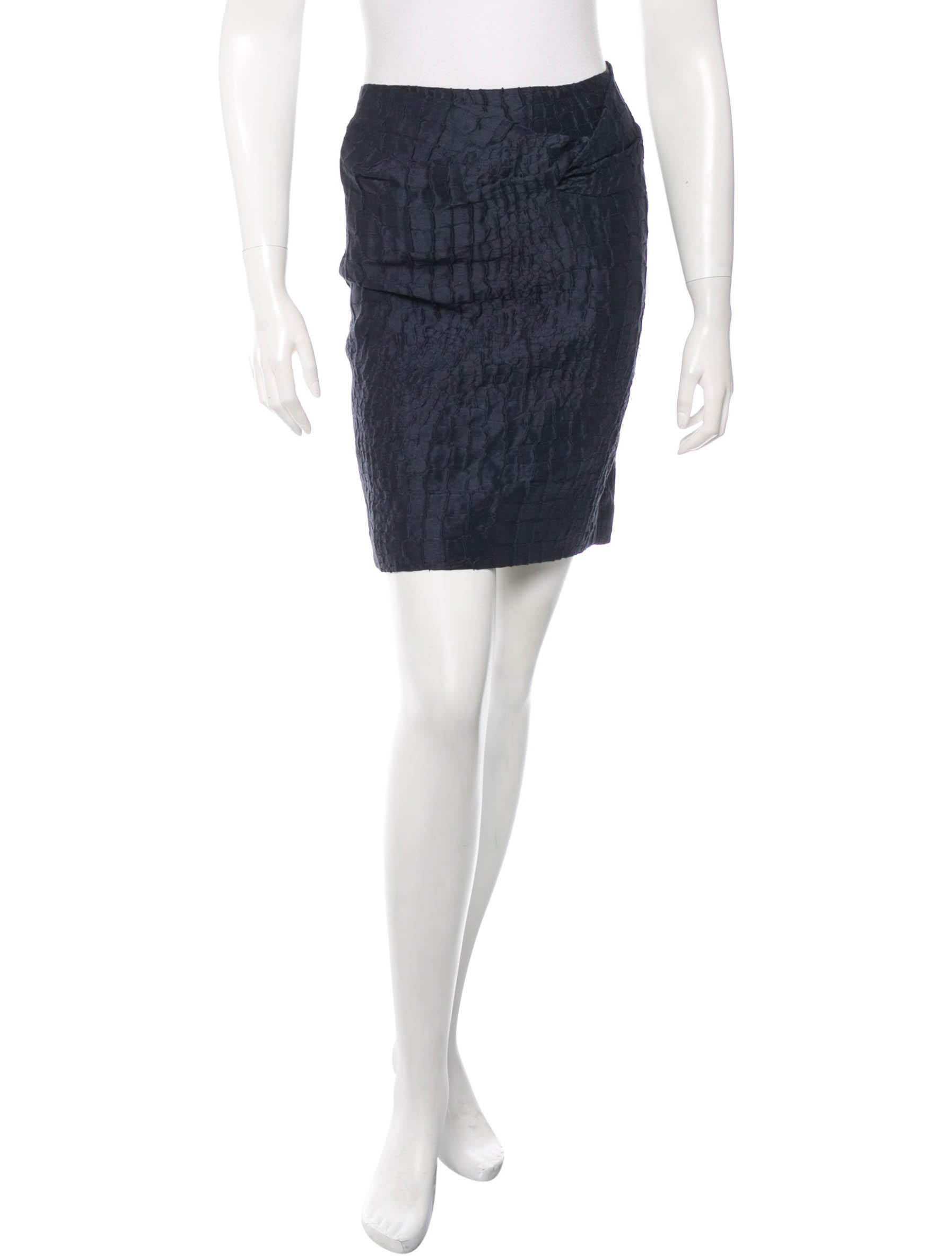 3 1 phillip lim patterned pencil skirt clothing