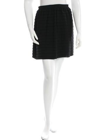 3.1 Phillip Lim Wool Ruffled Skirt