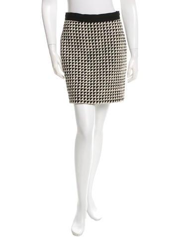 3.1 Phillip Lim Patterned Mini Skirt