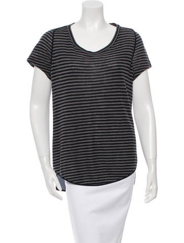3.1 Phillip Lim Wool & Silk Top None