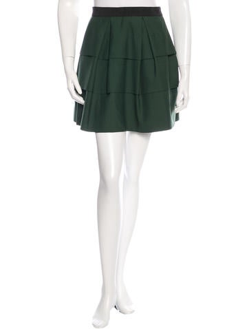 3.1 Phillip Lim Wool A-Line Skirt
