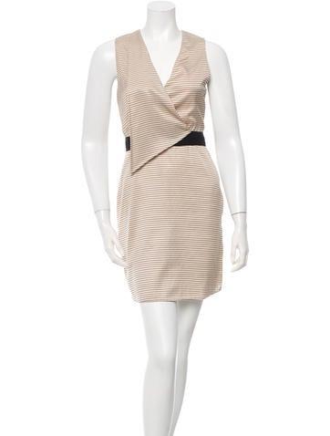 3.1 Phillip Lim Striped Mini Dress