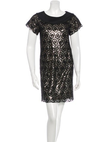 3.1 Phillip Lim Lace Sequin Dress
