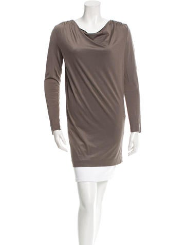 3.1 Phillip Lim Long Sleeve Tunic None