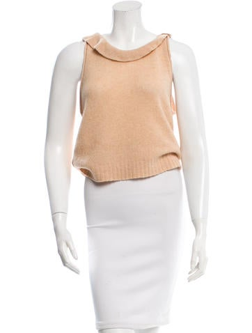 3.1 Phillip Lim Wool Sleeveless Top None