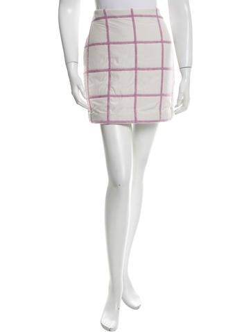 3.1 Phillip Lim Padded Mini Skirt w/ Tags None