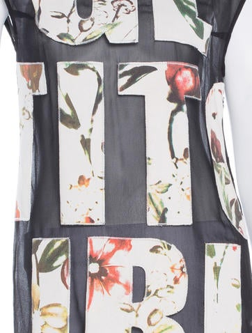 Silk Patchwork Top w/ Tags