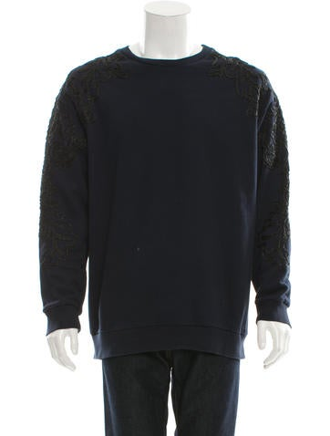 3.1 Phillip Lim Pullover Embroidered Detail Sweatshirt None