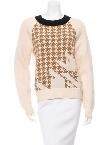 3.1 Phillip Lim Patterned Wool Sweater None