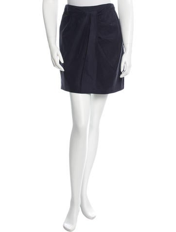 3.1 Phillip Lim Pleated Mini Skirt None
