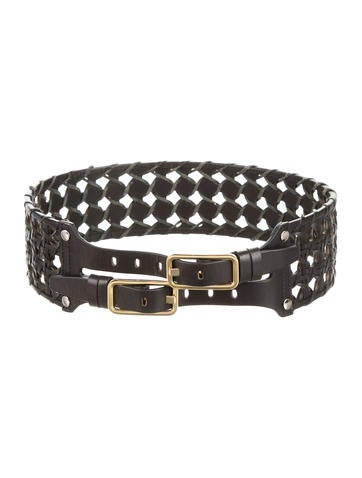 3.1 Phillip Lim Leather Woven Belt