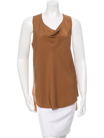 3.1 Phillip Lim Sleeveless Scoop Neck Top None