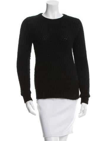 3.1 Phillip Lim Rib Knit Trim Sweater None