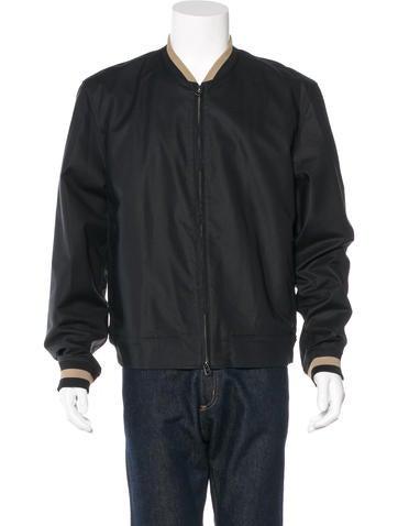 3.1 Phillip Lim Striped Lightweight Jacket None
