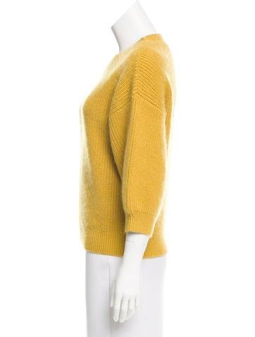 Rib Knit Wool Sweater
