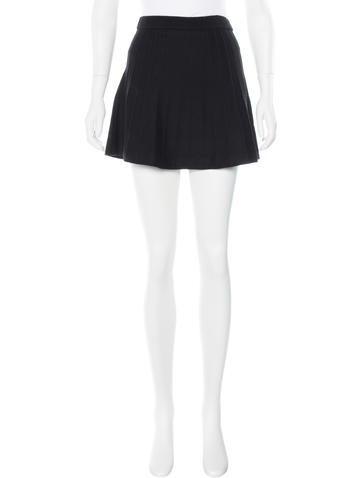 3.1 Phillip Lim Wool Mini Skirt None
