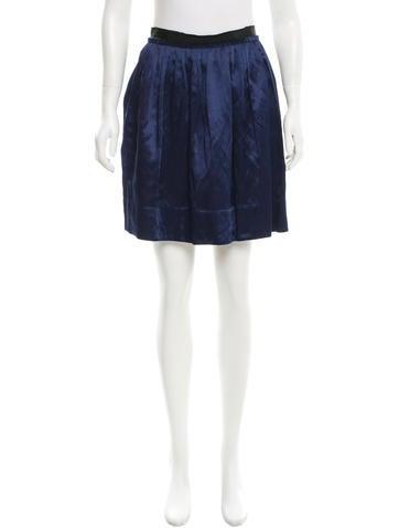 3.1 Phillip Lim Linen-Blend Skirt None