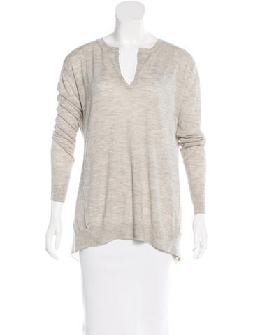 3.1 Phillip Lim Wool & Cashmere-Blend Top None
