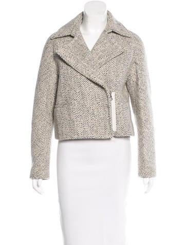3.1 Phillip Lim Wool Zip Jacket None