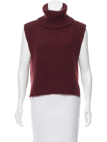 3.1 Phillip Lim Sleeveless Turtleneck Sweater None