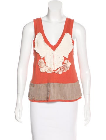 3.1 Phillip Lim Embellished Sleeveless Top None