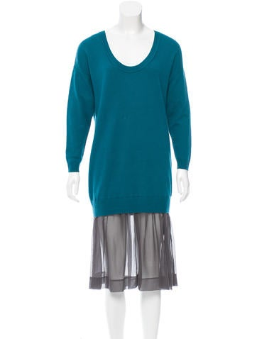3.1 Phillip Lim Cashmere Sweater Dress None