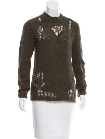 3.1 Phillip Lim Wool Open Knit Sweater w/ Tags None