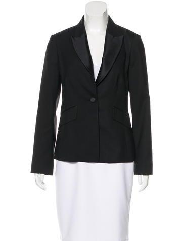 3.1 Phillip Lim Long Sleeve Wool Blazer None