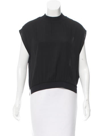 3.1 Phillip Lim Sleeveless Silk Top None